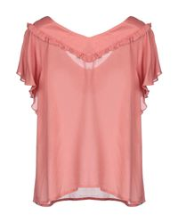 Blusa di Naf Naf in Pink