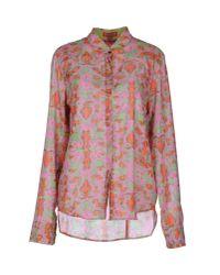 Lisa Corti   Green Long Sleeve Shirt   Lyst