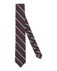 Brooks Brothers Red Fleece Brown Tie for men