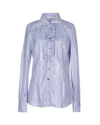 Aglini - Blue Shirt - Lyst