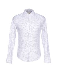 Band of Outsiders | White Shirt for Men | Lyst