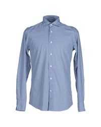 Hamptons - Blue Shirt for Men - Lyst
