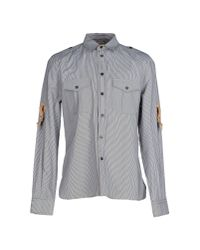 John Galliano | Gray Shirt for Men | Lyst