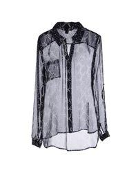 Diane von Furstenberg Blue Shirt
