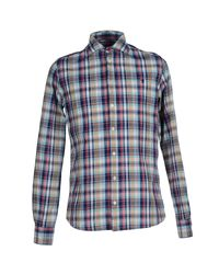 Jaggy Blue Shirt for men