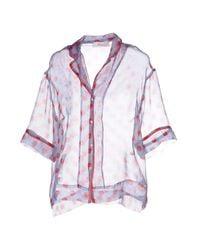 Jucca - Blue Shirt - Lyst