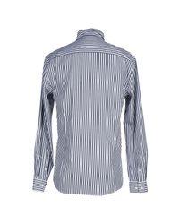 SELECTED - Blue Shirt for Men - Lyst