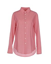 Band of Outsiders   Red Shirt   Lyst