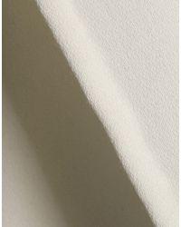 DKNY White Overcoat