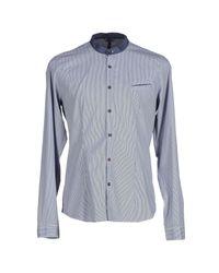 X-cape | Blue Shirt for Men | Lyst