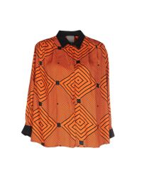 Alice San Diego | Orange Shirt | Lyst