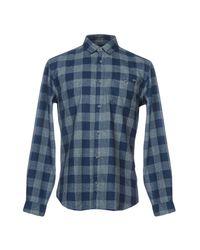 Originals By Jack & Jones Blue Shirts for men