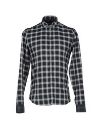Patrizia Pepe - Black Shirt for Men - Lyst