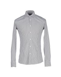Grey Daniele Alessandrini - Gray Shirt for Men - Lyst