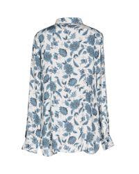 Brebis Noir - Blue Shirt - Lyst