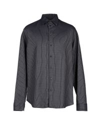 Armani | Black Shirt for Men | Lyst