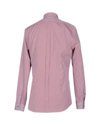 Dolce & Gabbana | Red Shirt for Men | Lyst