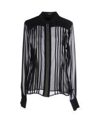 Hanita - Gray Shirt - Lyst