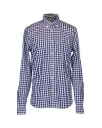 Scotch & Soda | Blue Shirt for Men | Lyst