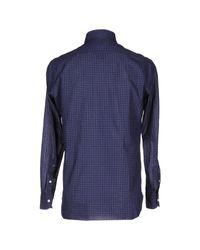 Luigi Borrelli Napoli - Blue Shirt for Men - Lyst