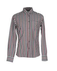 Glanshirt Gray Shirt for men