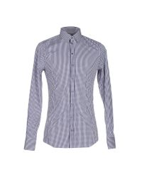 Dolce & Gabbana Blue Shirt for men