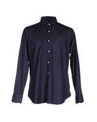 Truzzi Blue Shirt for men
