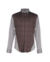 Armani Brown Shirt for men