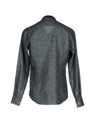 Giorgio Armani - Gray Shirt for Men - Lyst