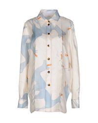 Céline | White Shirt | Lyst