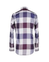 Aquascutum Purple Shirt for men