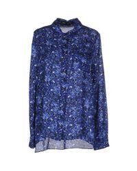 Proenza Schouler Blue Printed Tshirt