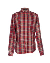 DIESEL Red Shirt for men