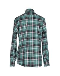 Hackett - Brown Shirt for Men - Lyst