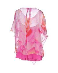 Rena Lange - Pink Blouse - Lyst