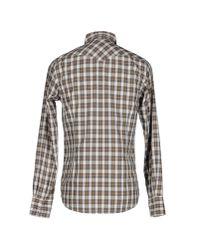 Ben Sherman   Gray Shirt for Men   Lyst