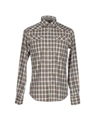 Ben Sherman | Gray Shirt for Men | Lyst