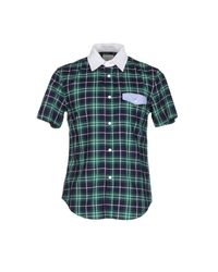 Band of Outsiders | Green Shirt for Men | Lyst