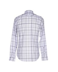 Mauro Grifoni Gray Shirt for men