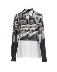 Dolce & Gabbana Gray Shirt
