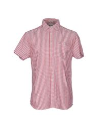 Wrangler - Red Shirt for Men - Lyst