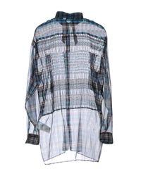 N°21 Blue Shirt