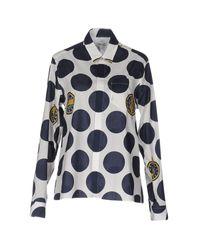KENZO - Blue Shirt - Lyst