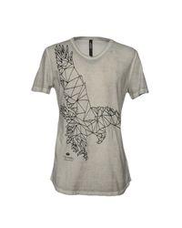 Tom Rebl Gray T-shirt