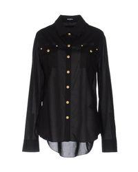 Balmain - Black Shirt - Lyst