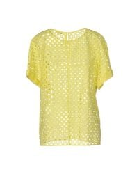 P.A.R.O.S.H. Yellow Blouse