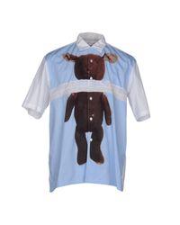 Comme des Garçons - Blue Shirt for Men - Lyst