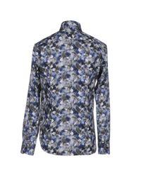Billionaire - Blue Shirt for Men - Lyst
