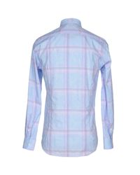 Etro | Blue Shirt for Men | Lyst