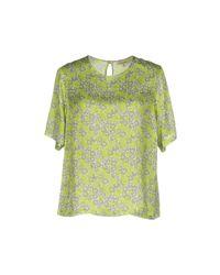 Chlotilde | Green Blouse | Lyst